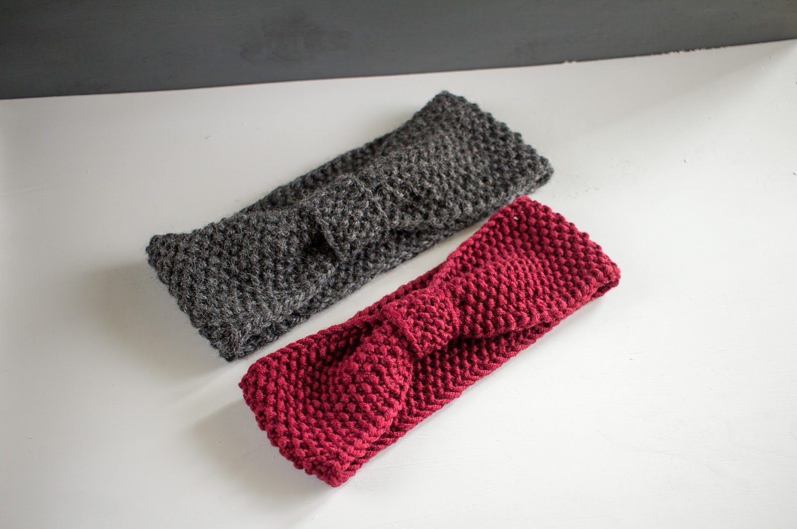 Beginner headband knitting pattern