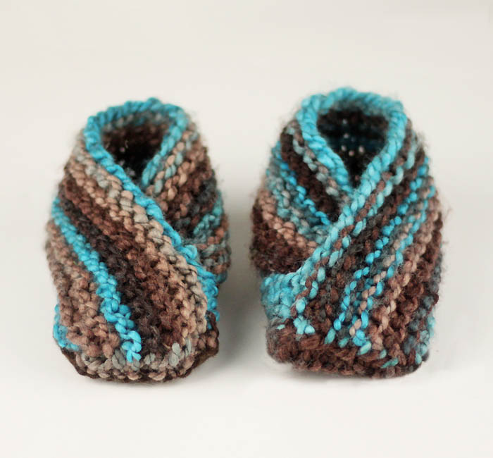 Easiest toddler slippers knitting pattern