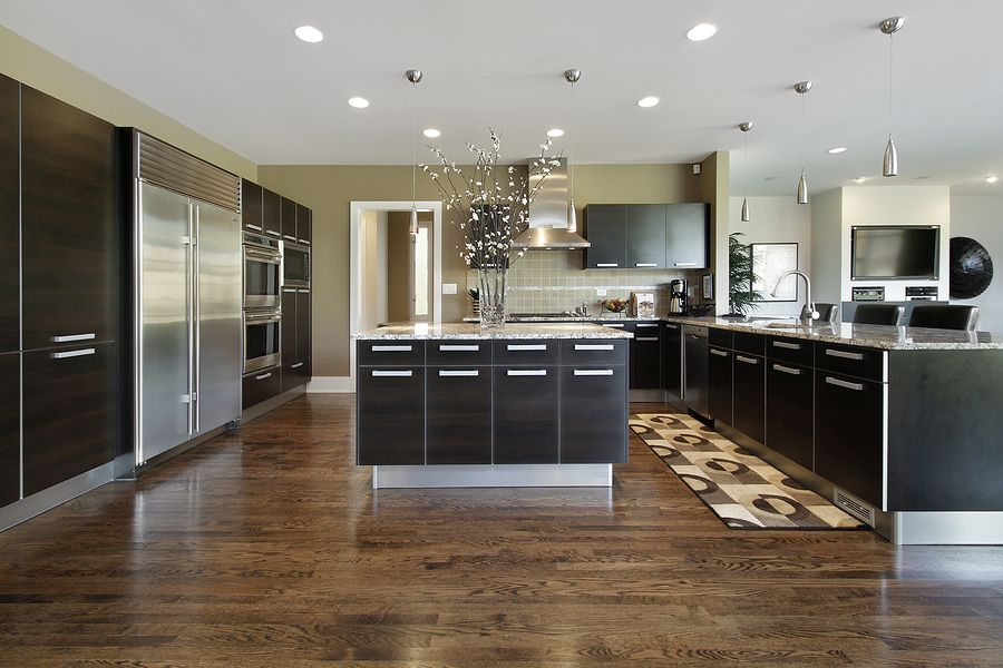 Modern edge kitchen design