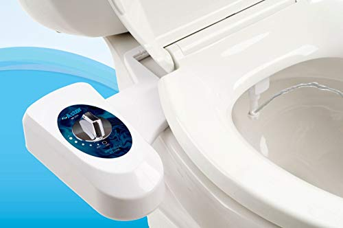 Astor Bidet Fresh Water Spray Non-Electric Mechanical Bidet Toilet Seat Attachment CB-1000