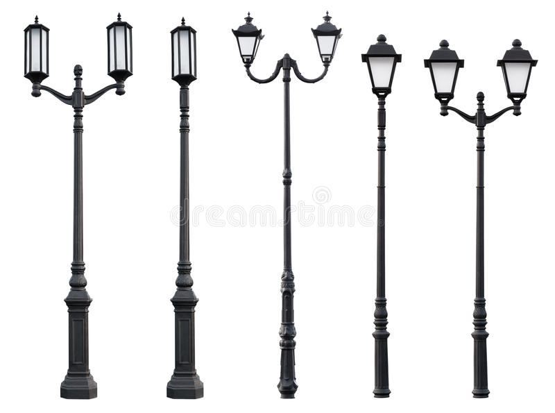 Old Vintage Street Lamp Post royalty free stock photography