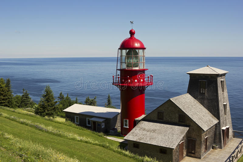 Pointe a la Renommee in Quebec. In Canada stock photography