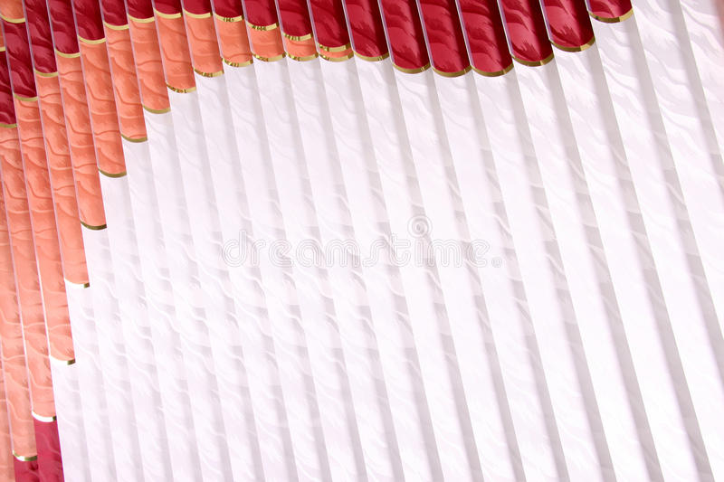 Vertical blinds. As a background stock photo