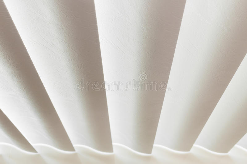 Vertical window blinds. With sun light stock photo