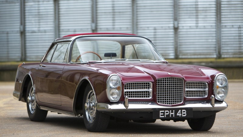 Facel Vega, Facellia, III, 3, classic cars, sports car, front, rent, buy, HK500, FVS, Excellence (horizontal)