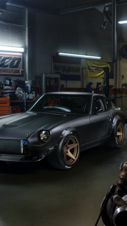 Nissan S30, classic cars, 7K (vertical)