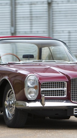 Facel Vega, Facellia, III, 3, classic cars, sports car, front, rent, buy, HK500, FVS, Excellence (vertical)