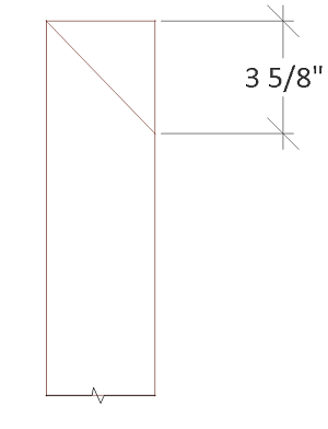 Free 4x8 chicken coop plans roof trim angle cut.