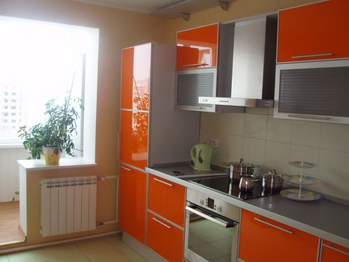 increase in kitchen due to the balcony
