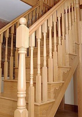 Georgian balusters by Pear Stairs