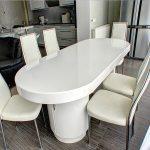 Акриловый стол – Прозрачная мебель из акрила для стильного и объемного интерьера