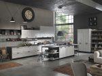 Белая кухня в стиле лофт – черный, синий, зеленый, серый и из металла, фото с примерами, делаем современный дизайн интерьера в квартире