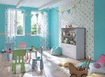 Обои для спальни детской – модели в комнату для стен в полоску, с динозаврами, для рисования, варианты в интерьере
