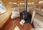 Печь дровяная для бани с баком для воды – Печи для бани на дровах с баком для воды: виды и монтаж