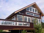 Реальные дома из бруса фото – Дома из бруса — лучшие проекты деревянных домов. Новинки дизайна + 200 фото