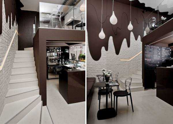 Дизайн кафе: фото грамотных и награждённых интерьеров 65