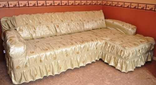 как сшить чехол на угловой диван с пошаговым фото выкройка чехла