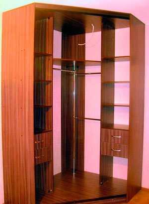 шкаф купе внутри пример наполнение шкафа купе для прихожей схемы